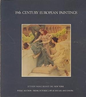 Sothebys October 1975 19th Century European Paintings: Sothebys