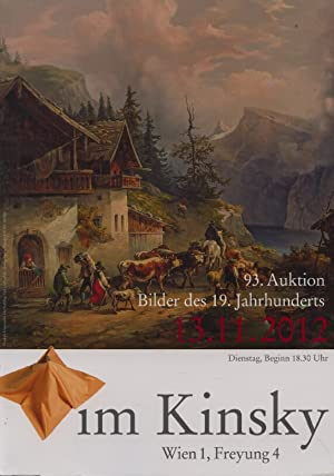 Kinsky November 2012 19th Century Paintings: Misc.