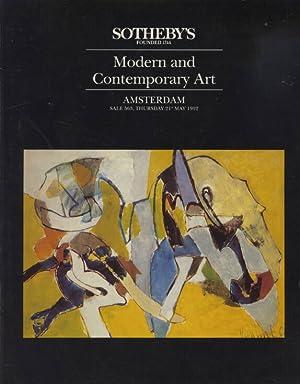 Sothebys May 1992 Modern and Contemporary Art: Sothebys