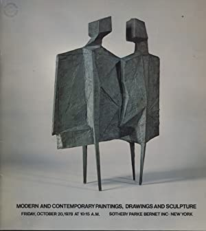 Sothebys October 1978 Modern & Contemporary Paintings, Drawings & Sculpture