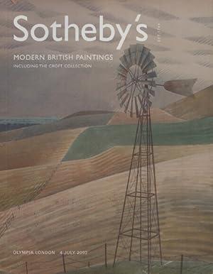 Sothebys July 2002 Modern British Paintings including: Sothebys