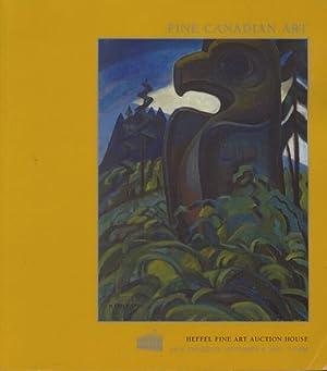 Heffel November 2001 Fine Canadian Art: Misc.