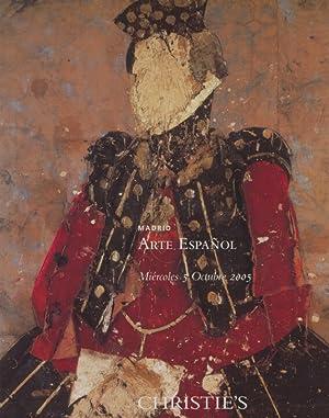 Christies 2005 Spanish Art: Christies