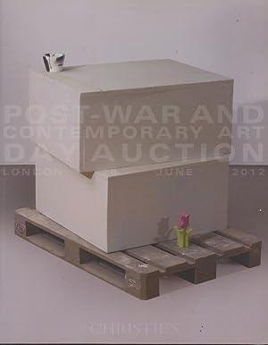 Christies June 2012 Post-War & Contemporary Art,: Christies