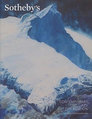 Sothebys February 2014 Contemporary Art - Day: Sothebys