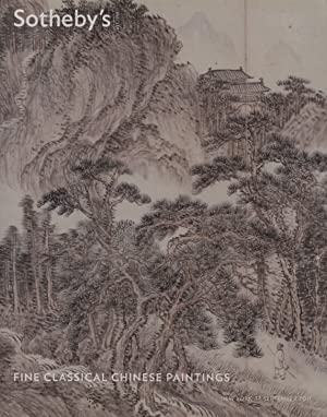 Sothebys September 2011 Fine Classical Chinese Paintings