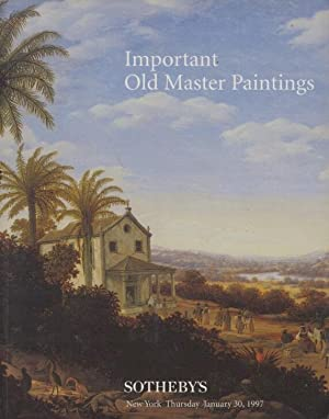 Sothebys January 1997 Important Old Master Paintings: Sothebys