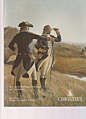 Christies 1996 American Paintings, Drawings & Sculpture: Christies