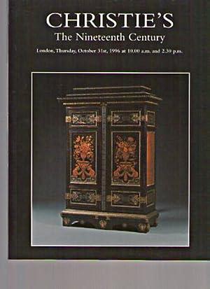 Christies 1996 The Nineteenth Century: Christies