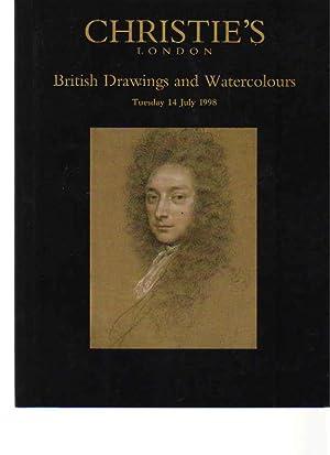 Christies 1998 British Drawings & Watercolors: Christies