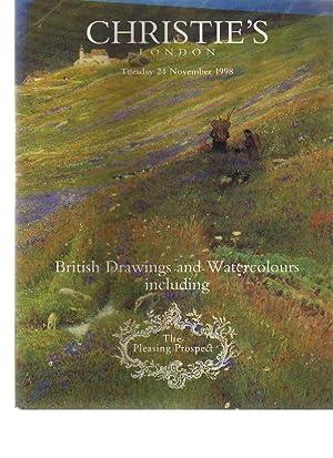 Christies 1998 British Drawings & Watercolors -Pleasing: Christies