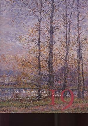 Christies 1998 Impressionist & Nineteenth Century Art: Christies