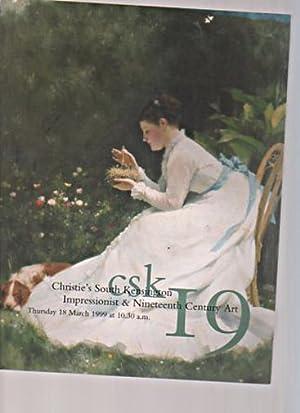 Christies March 1999 Impressionist & Nineteenth Century: Christies
