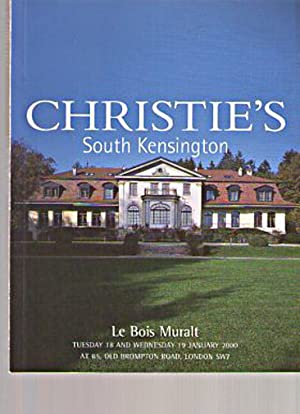 Christies 2000 Le Bois Muralt (French Furniture: Christies