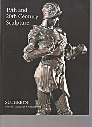 Sothebys 1996 19th & 20th Century Sculpture: Sothebys