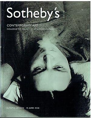 Sothebys June 2006 Contemporary Art inc. Collection: Sothebys