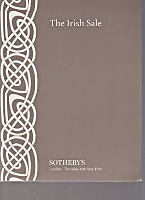 Sothebys 1996 The Irish Sale: Sothebys