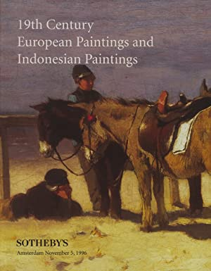 Sothebys November 1996 19th Century European Paintings: Sothebys
