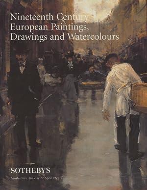 Sothebys April 1997 19th Century European Paintings,: Sothebys