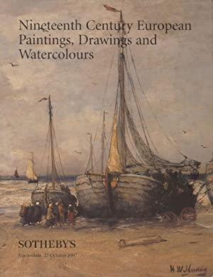 Sothebys 1997 19th C. European Paintings, Drawings: Sothebys