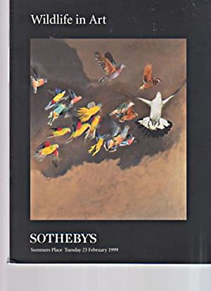 Sothebys 1999 Wildlife in Art: Sothebys
