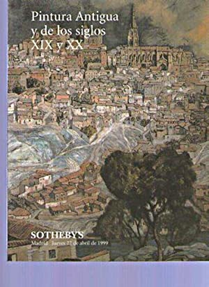 Sothebys 1999 Old Master, 19th & 20th: Sothebys