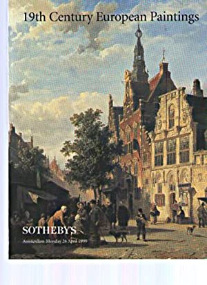 Sothebys 1999 19th C European Paintings: Sothebys