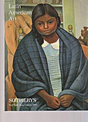 Sothebys 1999 Latin American Art: Sothebys