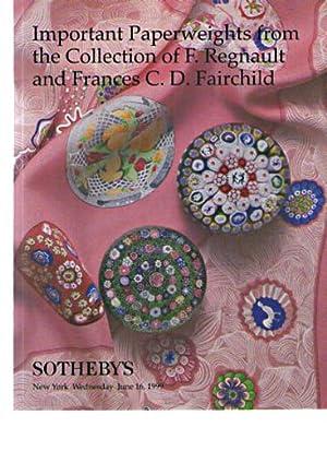 Sothebys 1999 Regnault & Fairchild - Important: Sothebys