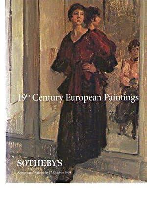 Sothebys October 1999 19th Century European Paintings: Sothebys