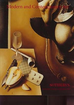 Sothebys 1999 Modern & Contemporary Art: Sothebys