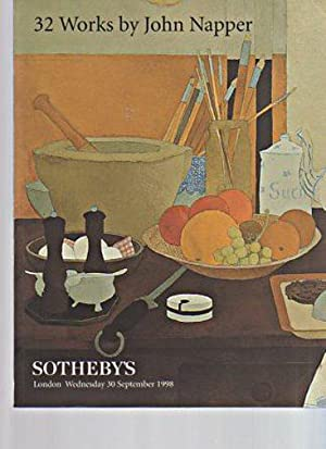 Sothebys 1998 32 Works by John Napper: Sothebys