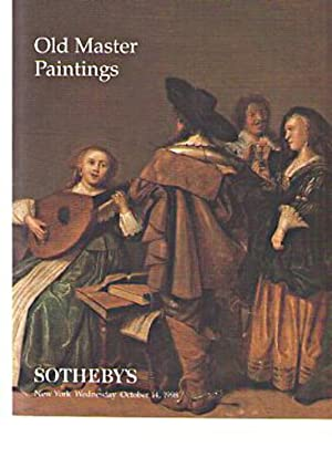 Sothebys October 1998 Old Master Paintings: Sothebys