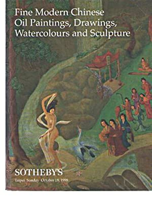 Sothebys October 1998 Modern Chinese Oil Paintings, Drawings