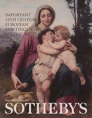 Sothebys May 2000 Important 19th Century European: Sothebys
