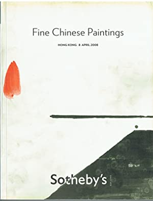 Sotheby's April 2008 Fine Chinese Paintings