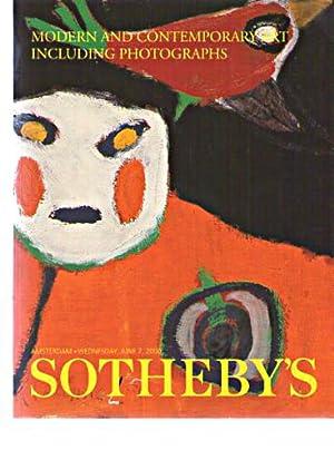Sothebys 2000 Modern & Contemporary Art inc: Sothebys