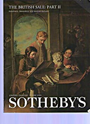 Sothebys 2000 The British Sale, Paintings, Drawing,: Sothebys