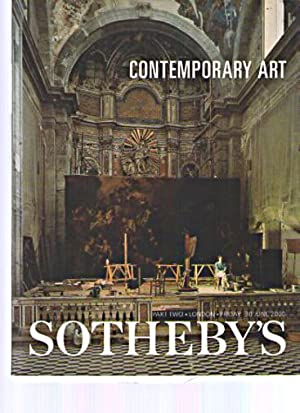 Sothebys June 2000 Contemporary Art: Sothebys