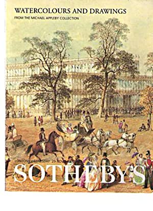 Sothebys 2000 Appleby Collection Watercolours, Drawings: Sothebys