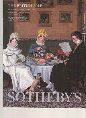 Sothebys 2001 British Paintings 1500 - 1850: Sothebys