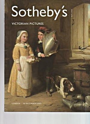 Sothebys 2001 Victorian Pictures: Sothebys