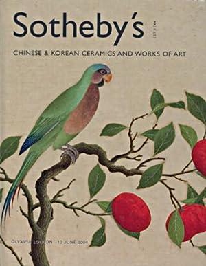 Sothebys 2004 Chinese & Korean Ceramics &: Sothebys