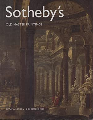 Sothebys December 2005 Old Master Paintings: Sothebys