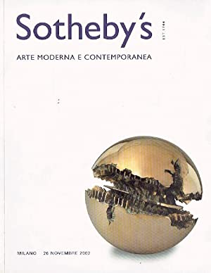 Sothebys November 2002 Modern and Contemporary Art: Sothebys