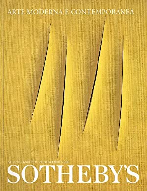 Sothebys November 2000 Modern and Contemporary Art: Sothebys