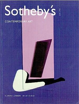 Sothebys June 2002 Contemporary Art: Sothebys