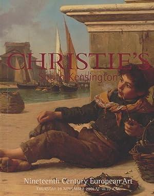 Christies November 2001 19th Century European Art: Christies
