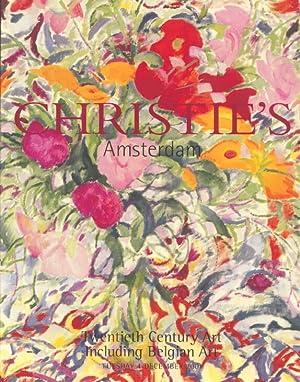 Christies December 2001 Twentieth Century Art Including: Christies
