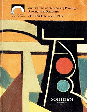 Sothebys February 1995 Modern, Contemporary Paintings, Drawings: Sothebys